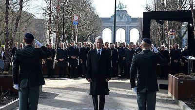 Bélgica rinde homenaje a las víctimas de los ataques terroristas de hace un año