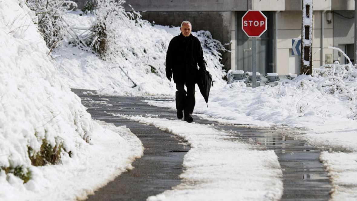 Las temperaturas descienden bruscamente en toda la península