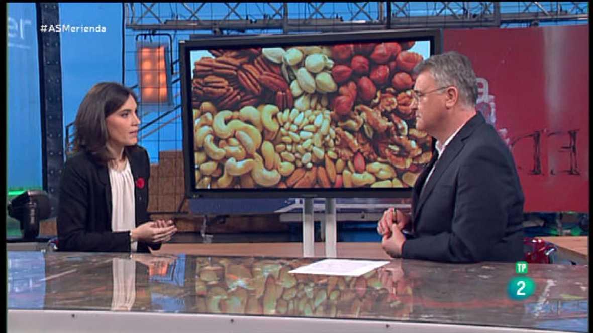 La Aventura del Saber. TVE. Taller de nutrición. Marián García. Las meriendas