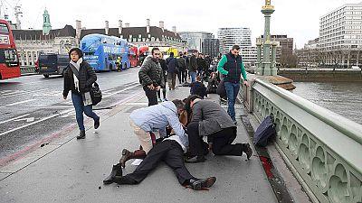 Ataque terrorista en Londres | Un atacante apuñala a un policía e intenta asaltar el Parlamento británico