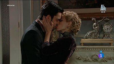 Acacias 38 - Cayetana besa a Fernando