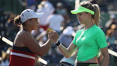 Tenis -  WTA Torneo Miami (EEUU): E. Bouchard - A. Barty