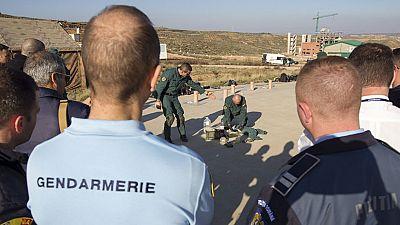 Más de 200 agentes de 24 países practican cómo coordinarse en caso de atentado