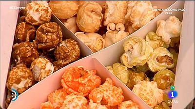 España Directo - Palomitas gourmet de todos los sabores