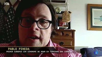 Hora Punta - Pablo Pineda, primer europeo con síndrome de Down en terminar una carrera, tiene un mensaje para nosotros