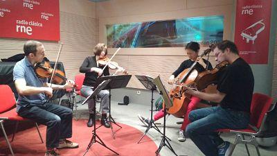 Estudio 206 - Cuarteto Brentano - 24/03/17