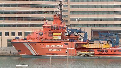 Salvamento Marítimo ha recuperado el cuerpo del segundo pescador desaparecido tras la colisión de un pesquero con un mercante ruso cerca del Puerto de Barcelona