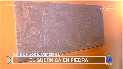 España Directo - El Guernica en una escultura de piedra