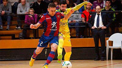 LNFS. Jornada 25. Levante 2-1 Jaén. Resumen - ver ahora