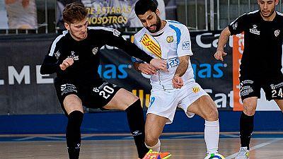 LNFS. Jornada 25. Catgas Energía 3-3 Santiago Futsal. Resumen - ver ahora