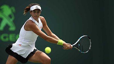 Tenis -  WTA Torneo Miami (EEUU): G. Muguruza - S. Zhang - ver ahora