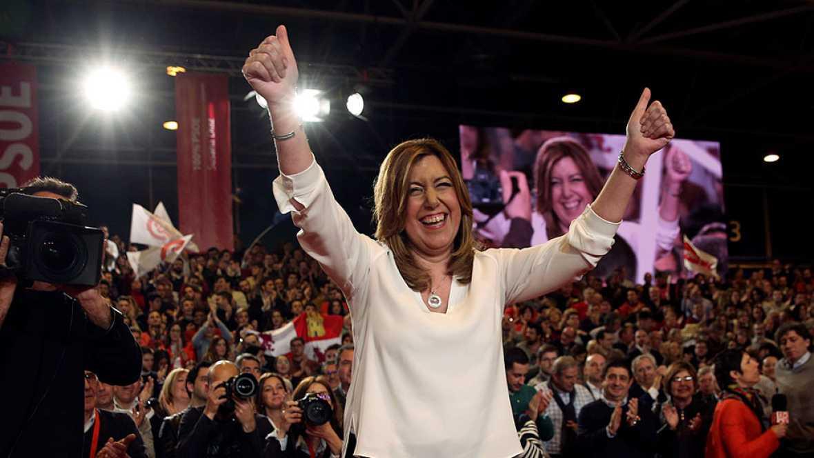 Susana Díaz ha presentado su candidatura a liderar el PSOE