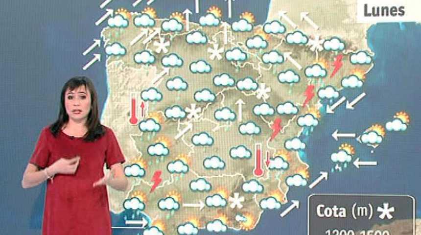 Lluvias localmente fuertes en Extremadura, Madrid y ambas Castillas