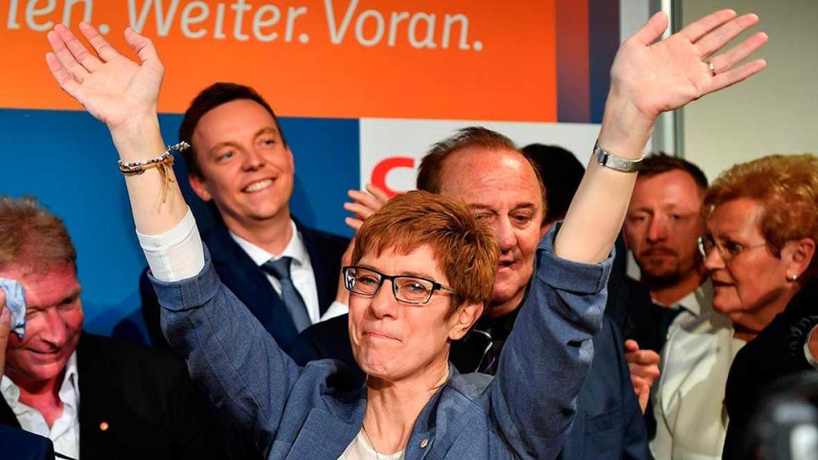 La CDU de Merkel gana las regionales