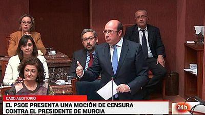 Parlamento - Otros parlamentos - El PSOE presenta moción de censura en Murcia - 25/03/2017