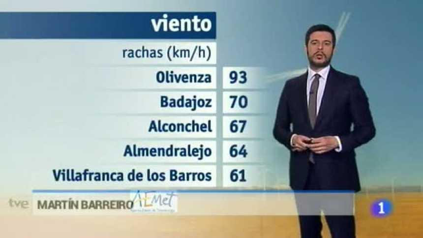 El tiempo en Extremadura - 27/03/17