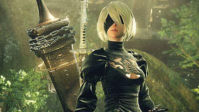 2B es la androide protagonista del videojuego 'NieR: Autómata' para PlayStation 4.