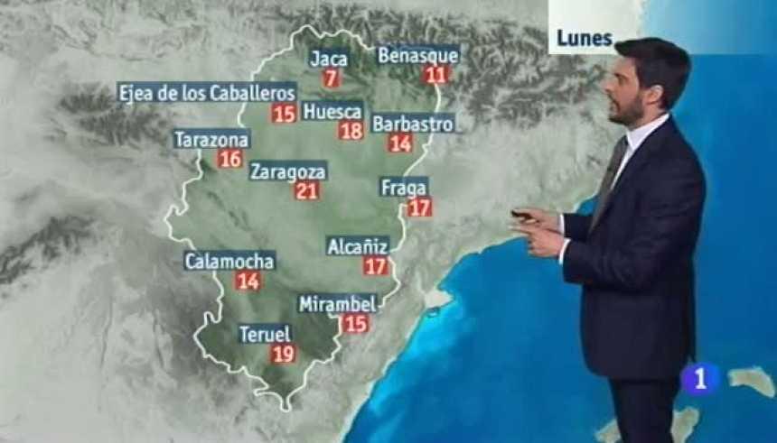 El tiempo en Aragón - 27/03/2017