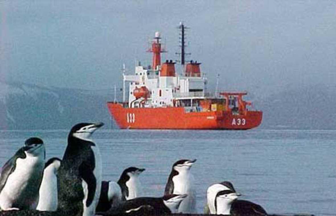 Luchar contra el CO2 en la Antártida