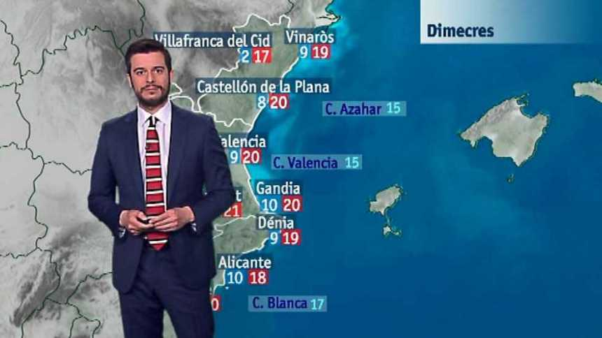 El tiempo en la Comunidad Valenciana - 28/03/17