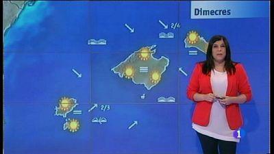 El temps a les Illes Balears - 28/03/17