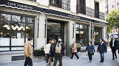 El Comercial, el café más antiguo de Madrid, reabre sus puertas