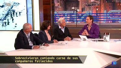 Hora Punta - Roberto Canessa y Pablo Vierci han escrito el libro 'Tenía que sobrevivir'