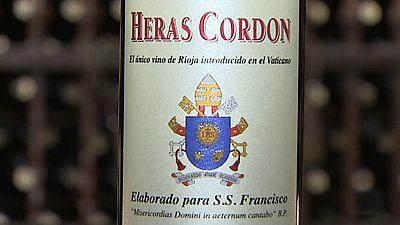 De una bodega riojana salen los vinos con los que se brinda dentro y fuera del Vaticano
