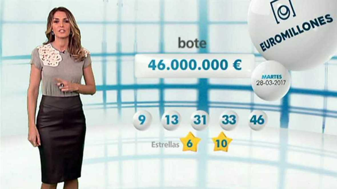 Bonoloto + EuroMillones - 28/03/17 - ver ahora
