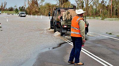 El ciclón 'Debbie' arrasa amplias zonas en la costa noreste de Australia