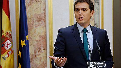 """Rivera celebra un acuerdo con el Gobierno para los Presupuestos """"mejor de lo esperado"""""""