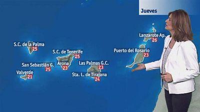 El tiempo en Canarias - 30/03/2017