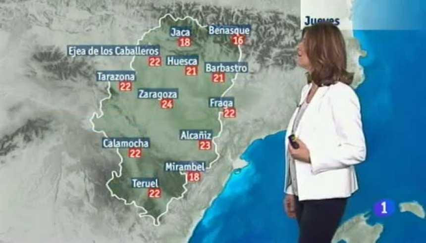 El tiempo en Aragón - 30/03/2017