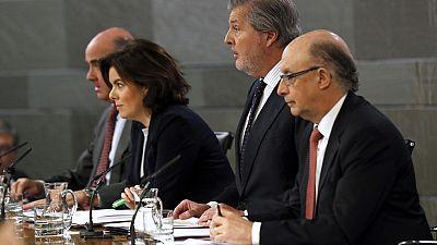 """El Gobierno prepara unos presupuestos """"coherentes con la corrección del déficit público"""""""