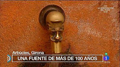 España Directo - Una fuente de más de 100 años en Arbúcies, Girona