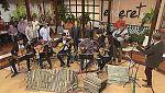 """Tenderete - 02/04/2017 con La parranda """"Pa un Rato""""  y el timplista Josele del Pino."""