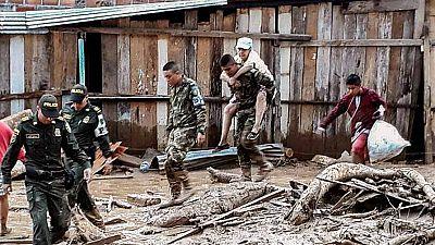 Más de un centenar de muertos en una avalancha en Colombia