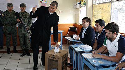 Ecuador decide quién sucederá a Rafael Correa