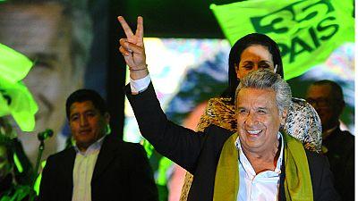 Lenín Moreno gana las presidenciales de Ecuador pero su oponente Lasso pide un nuevo recuento