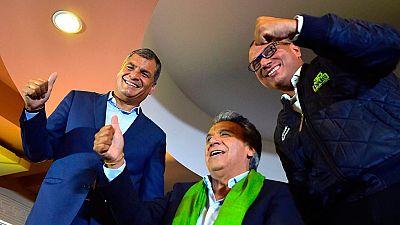 El candidato oficialista Lenín Moreno será probablemente el nuevo presidente de Ecuador