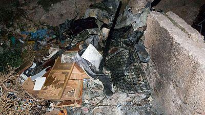 Mueren tres jóvenes en un incendio en una casa cueva de Almería