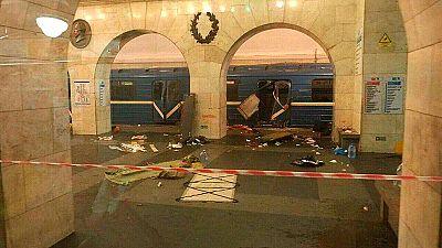 Al menos 11 muertos tras una explosión en el metro de Rusia