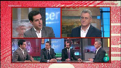 La Aventura del Saber. TVE. Taller de empresa. Arturo de las Heras,  Mikel Castaños y Pablo Martín Ratón