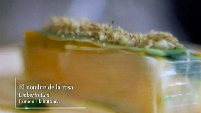 "Receta literaria extraída de ""El nombre de la rosa"" de Umberto Eco"