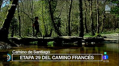 España Directo - Los últimos kilómetros del camino francés de Santiago