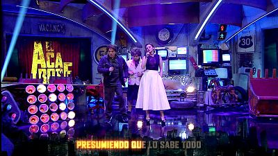 """El Acabose - Chenoa y Fumi cantan a dueto """"Cuando tú vas"""""""