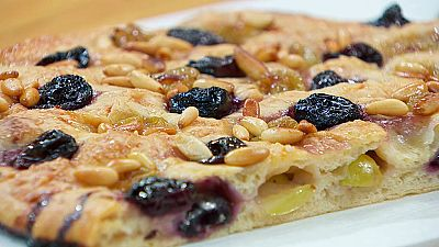 Torres en la cocina - Torta de uva