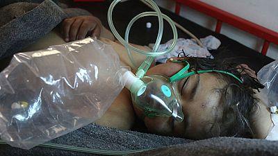 Guerra en Siria - Las autopsias a los fallecidos en la masacre de Idlib confirman el uso de armas químicas