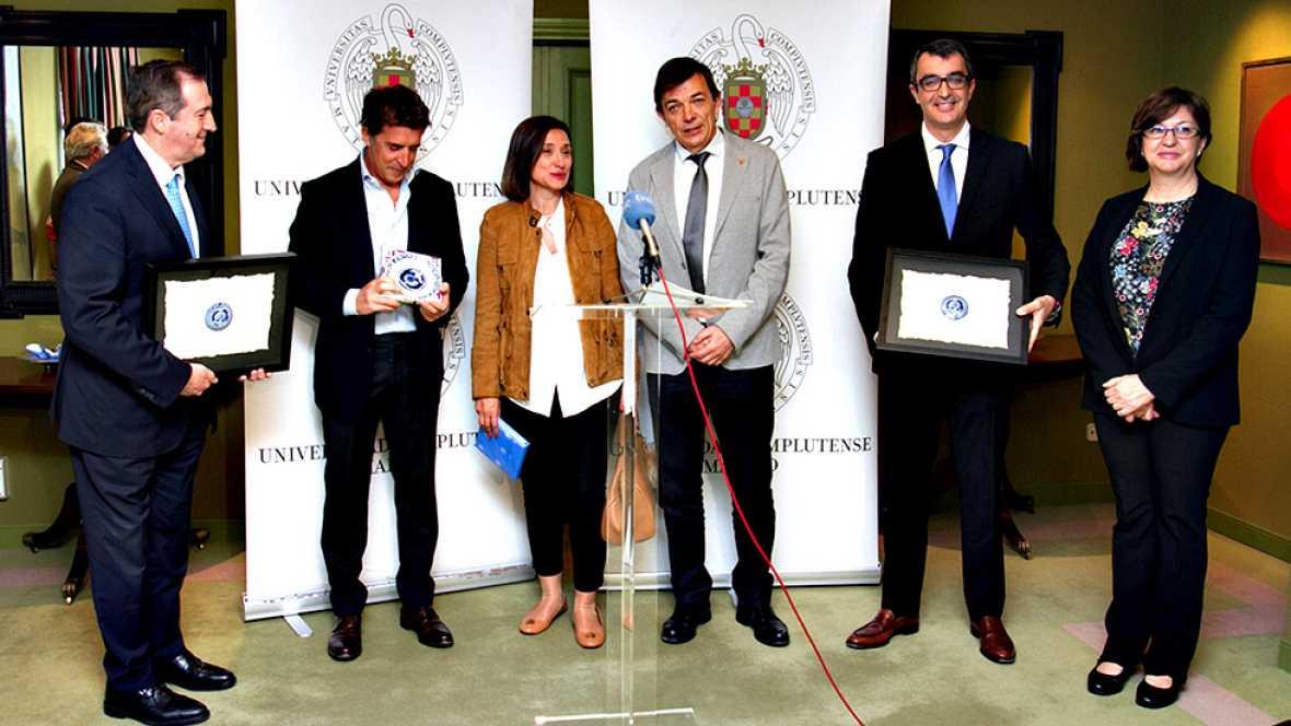 Radio Television Española ha sido reconocida por su contribucion a la difusion de la cultura cientifica y en particular de la geología en las transmisiones de la Vuelta ciclista a España.