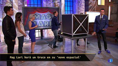 Hora Punta - Mag Lari nos sorprende con un nuevo truco de magia... con una nave espacial para Álex González y Clara Lago!